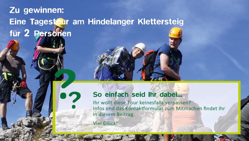 Gewinnspiel Klettersteigtour