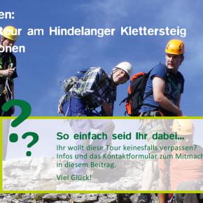 Klettersteig Tagestour gewinnen