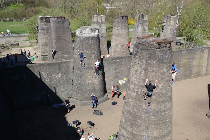 Klettersteig Duisburg : Jdav freizeit im landschaftspark duisburg vom u juli