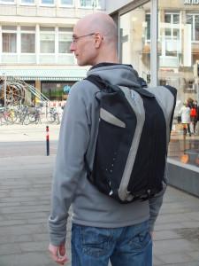 Der Vario QL3 als Rucksack