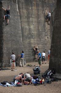 Klettern und Erholung im Landschaftspark Duisburg s