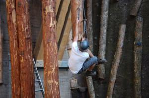 Drytooling-Anlage – der neueste Coup im Klettergar