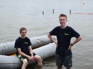 Der Autor Thorben (rechts) mit seinem Jugendleiter-Kollegen Daniel