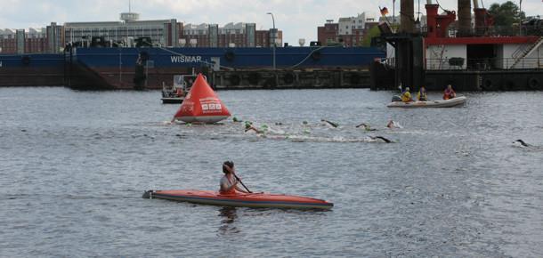 Mit dem Kajak zum Triathlon - NordseeMan & NordseeWoman in Wilhelmshaven