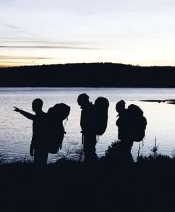 Abends Unterwegs in Stockholm