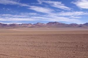 Die Montañas Blancas (bunten Berge)