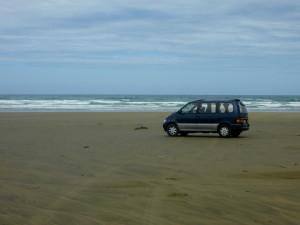 Neuseeland-Beach