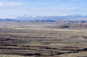 das bolivianische Hochland