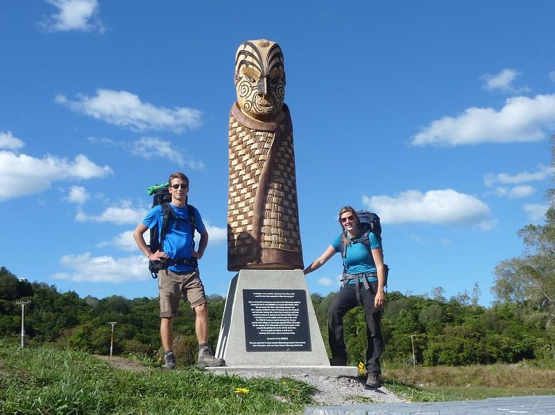Mit dem Schutz der Maori kann auf unserer Wanderung nichts schief gehen