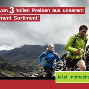 Jetzt mitmachen und einen von 3 tollen Preisen von Mountain Equipment gewinnen!