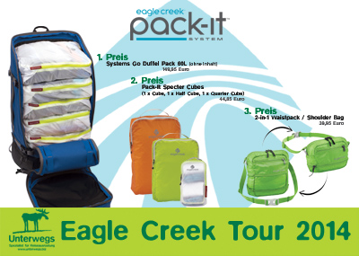 3 tolle Preise von Eagle Creek