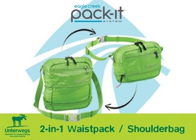 Waistpack-Shoulderbag-Unterwegs