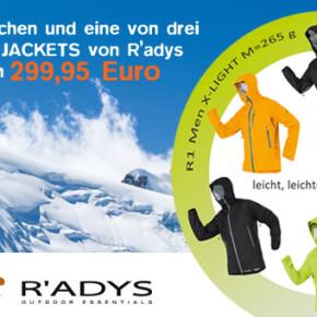Jetzt mitmachen und ultraleicht mit R'adys in den Sommer starten!