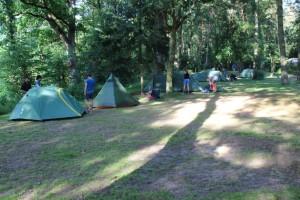 Beim Campingplatz in Melbeck
