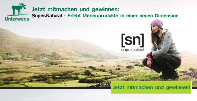 Unterwegs Gewinnspiel September Super.Natural