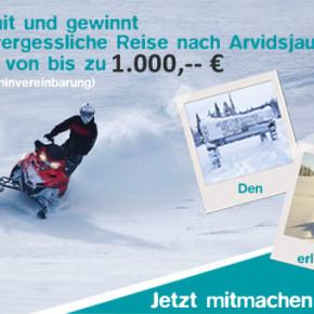 Jetzt mitmachen und eine Winterreise mit nordic holidays im Wert von bis zu 1000 Euro gewinnen