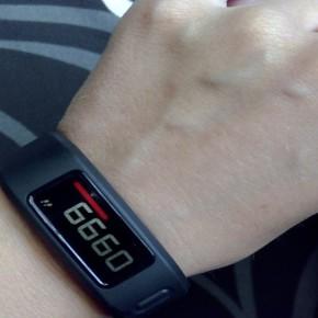 Garmin Vivofit: So schlägt sich das Fitness-Armband im Alltag von Imke