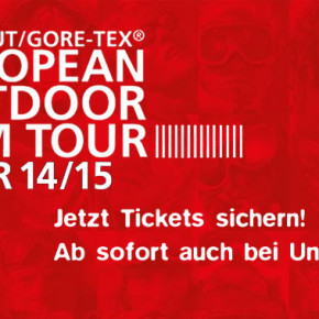 European Outdoor Film Tour 2014 - Jetzt Tickets sichern!