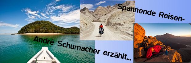André Schumacher erzählt von spannenden Reisen