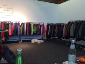 So viel Platz - auch für den Hund des Chefs :-)