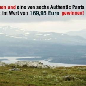 Jetzt mitmachen und eine von sechs Authentic Pants von Lundhags gewinnen!