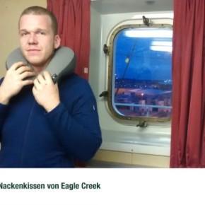 2-in-1 Nackenkissen von Eagle Creek - nicht nur ideal für echte Seebären
