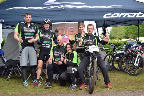 Torsten, Stefan, Carsten, Nicola, ich, Maic