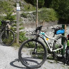 Mountainbiketour von Österreich durch Slowenien nach Kroatien