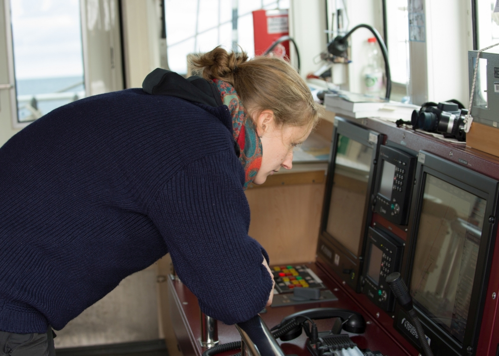 Das Herzstück der Navigatoren an Bord