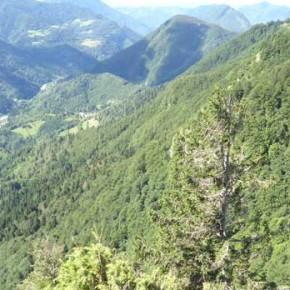 slowenische Berge