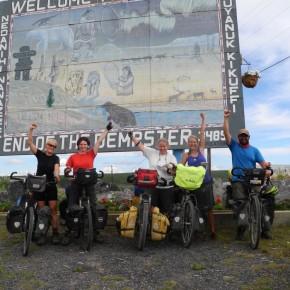 Unterwegs auf dem Dempster Highway in Kanada