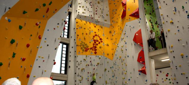 Auf gehts ins Unterwegs Kletterzentrum DAV Bremen