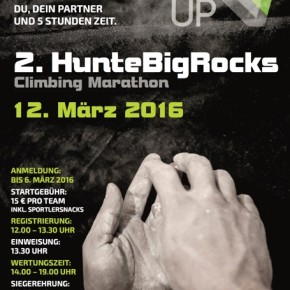 HunteBigRocks 2016 im UP Kletterzentrum in Oldenburg