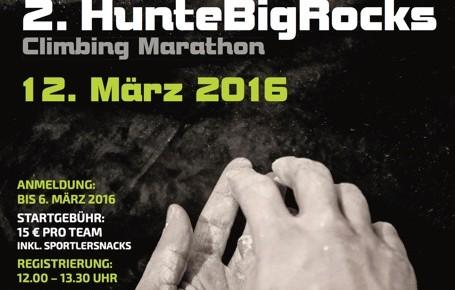 HunteBigRocks 2016 im UP Kletterzentrum in Oldenburg