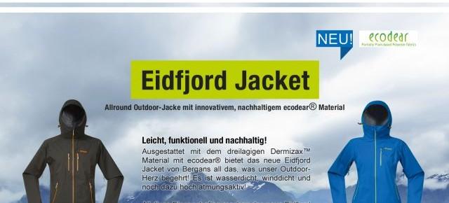 Jetzt mitmachen und das innovative Eidfjord Jacket von Bergans gewinnen!