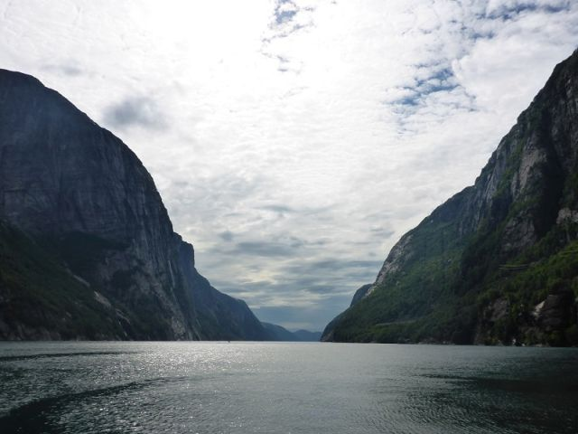 Lysebotn-Bergwelt-Ausblick