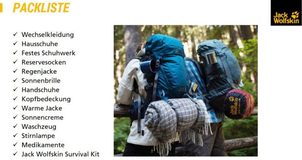 Packliste-Outdoor-Schulung