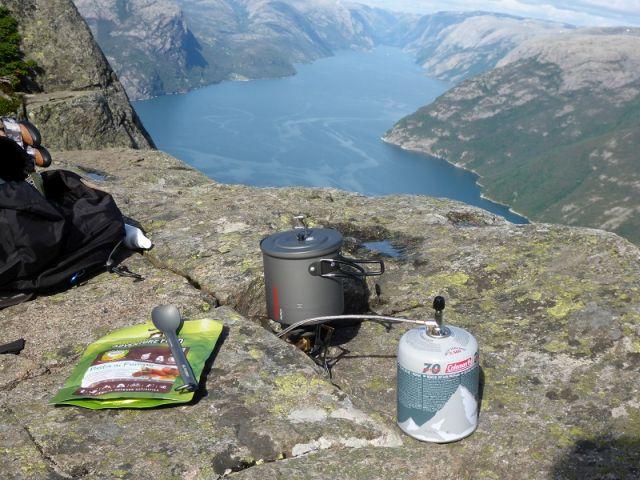 Trekkingnahrung-Fjord-Kocher