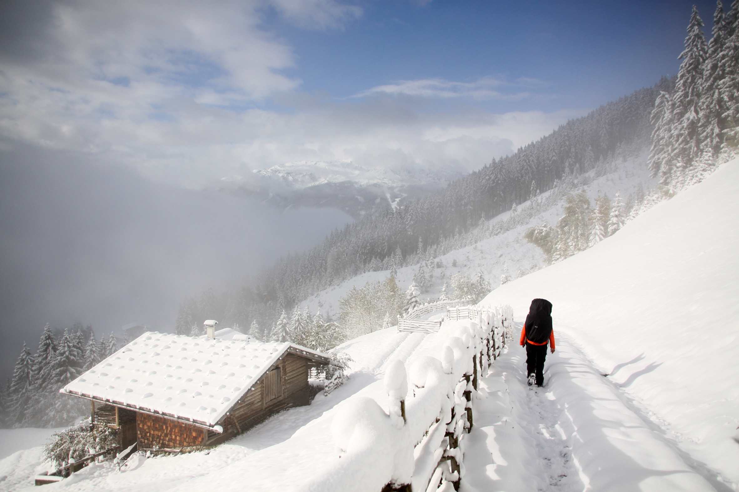 Winter-Tour Unterwegs Outdoor-Experten