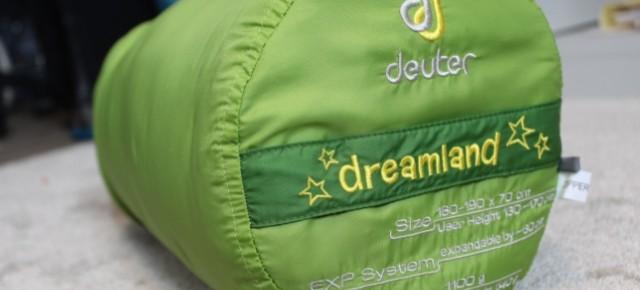 Deuter Dreamland - der Schlafsack, der mitwächst