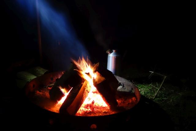 Lagerfeuer-Unterwegs