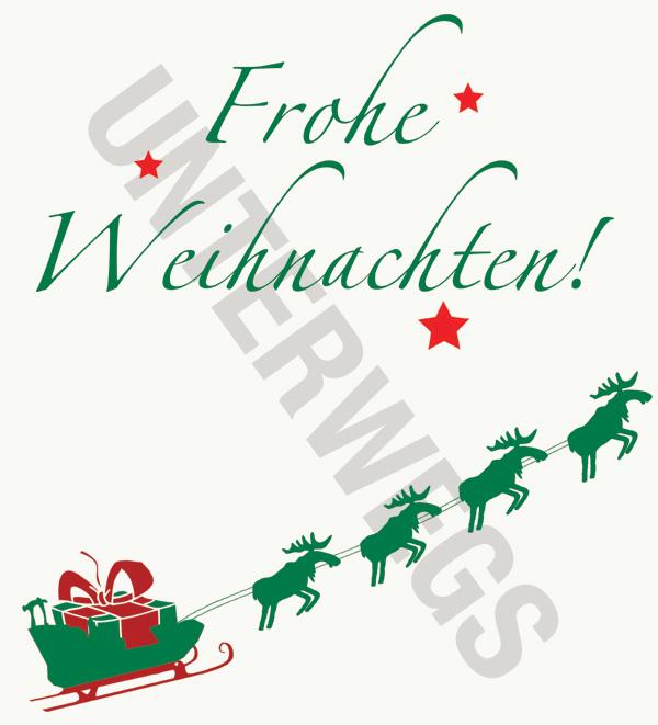 Unterwegs-Weihnachtsbeutel-