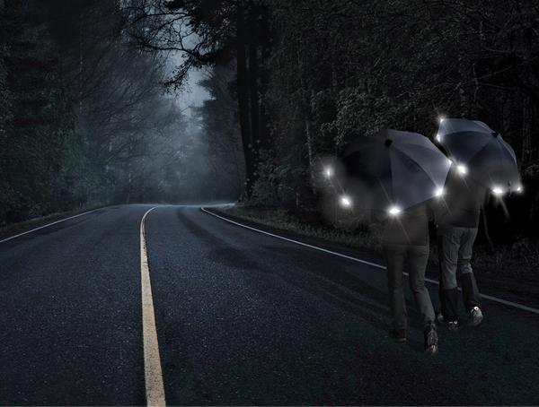 Goebel-Regenschirm-Reflektor