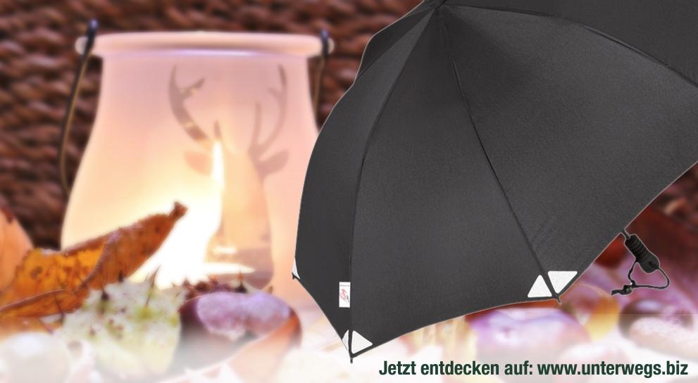 Goebel Regenschirme Reflektor bei Unterwegs