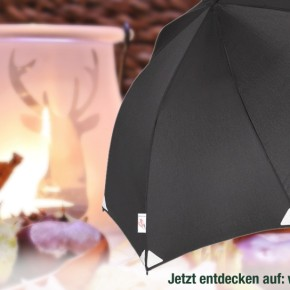 Göbel Regenschirme - Die wohl stabilsten (Outdoor-)Schirme und unser Tipp für den Weihnachtsbaum!