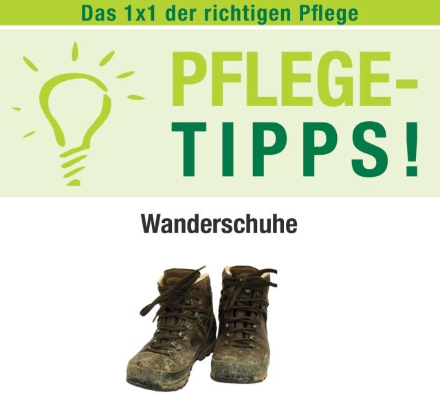 Unterwegs Pflegetipps für Wanderschuhe Elchblog hier