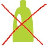Kein Weichspüler verwenden!