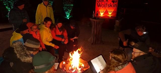 Unterwegs beim Jack Wolfskin Händlerevent 2017 im Taunus