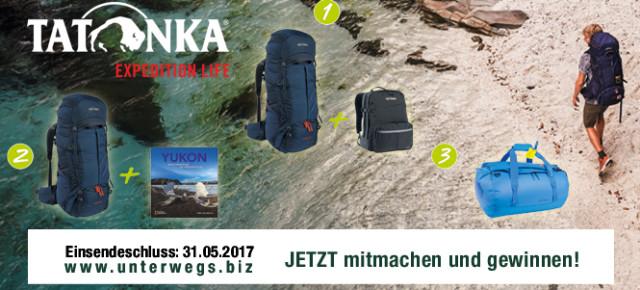 Jetzt mitmachen und tolle Preise von Tatonka gewinnen!