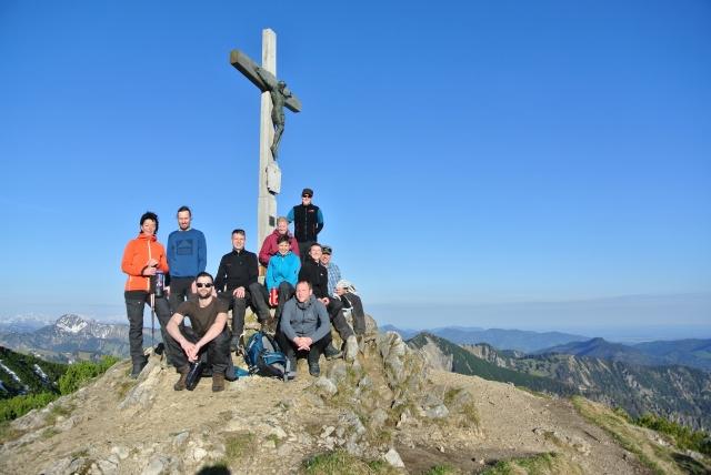 Unterwegs Gipfelfoto